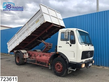 Mercedes-Benz 1619 Manual, Steel suspension, Borden - tipper