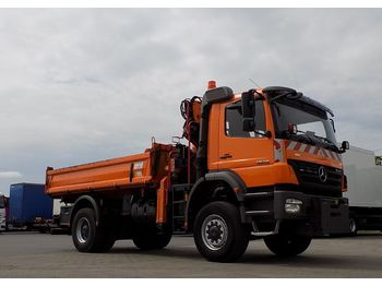 Mercedes-Benz 1828 ATEGO 4X4 - tipper