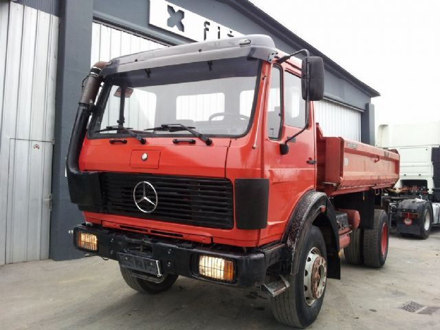 Mercedes benz 1926 4x4 tipper from slovenia for sale at for 1926 mercedes benz for sale