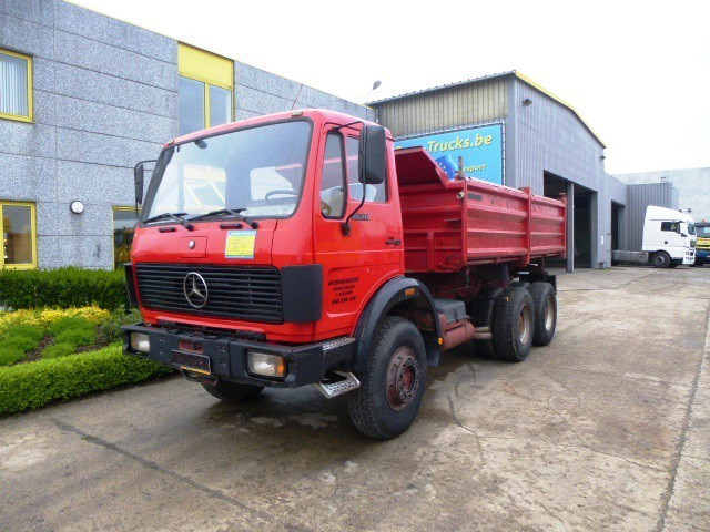 Mercedes benz 2628 tipper from belgium for sale at truck1 for Mercedes benz belgium