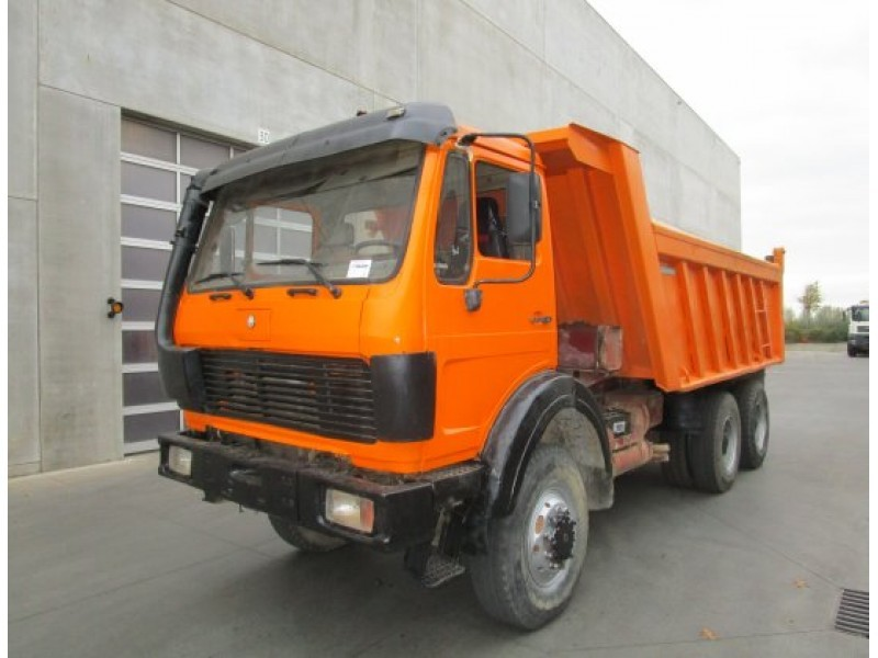Mercedes benz 2628 ak tipper from belgium for sale at for Mercedes benz belgium