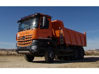 Tipper Mercedes-Benz 3342 6X6 Mulden Kipper Euromix ET 18