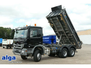 Tipper Mercedes-Benz 3344 Actros 6x6, Meiller, Bordmatik,wenig KM,TOP