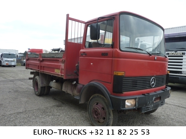 mercedes benz 809 tipper from belgium for sale at truck1 id 941871 rh truck1 eu Manual Mercedes 2017 Manual Mercedes Clutch
