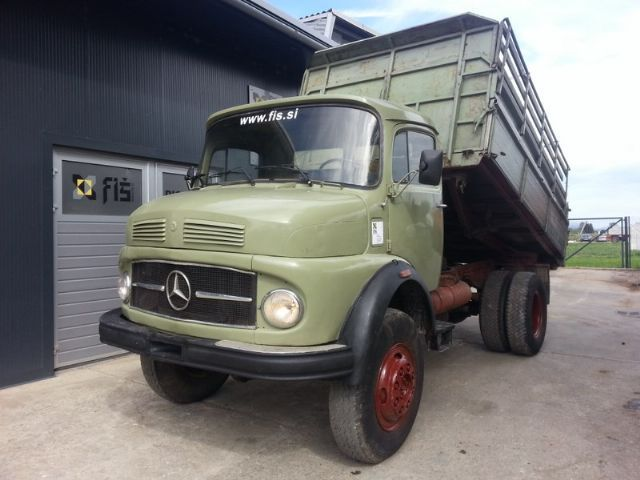 Mercedes benz 911 4x4 tipper from slovenia for sale at for Mercedes benz truck 4x4