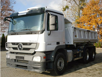 Φορτηγό ανατρεπόμενο Mercedes-Benz ACTROS 2644 6x4 EURO5 DSK mit Bordmatik Meiller
