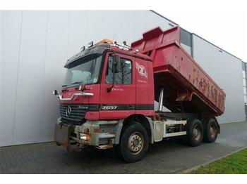 Tipper Mercedes-Benz ACTROS 2657 6X4 FULL STEEL HUB REDUCTION EURO 2