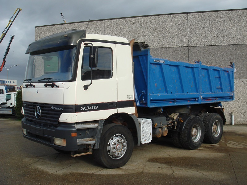 mercedes benz actros 3340 6x4 manual tipper from belgium for sale at rh truck1 eu Actros 3340 Head Lamp Actros 4148