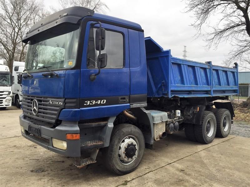 mercedes benz actros 3340 6x6 manual schalt tipper from belgium for rh truck1 eu Actros 4148 Actros 3340 Head Lamp