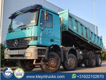 Tipper Mercedes-Benz ACTROS 4140 8x8 meiller manual
