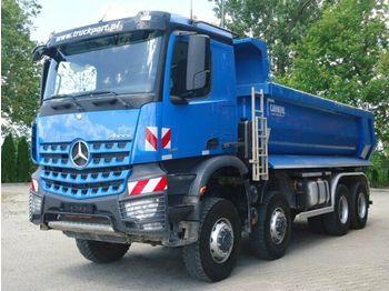 Tipper Mercedes-Benz AROCS 4142 8x8 EURO6 Muldenkipper Carnehl TOP!