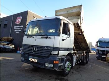 Φορτηγό ανατρεπόμενο Mercedes-Benz Actros 2631 manual /top