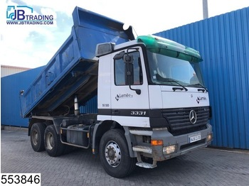 Mercedes-Benz Actros 3331 6x4, 13 Tons axles, Manual, Steel suspension, Hub reduction - tipper