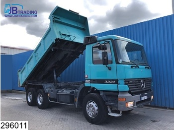 Tipper Mercedes-Benz Actros 3331 6x4, Manual, 13 Tons axles, Steel suspenion, Analoge tachograaf, Hub reduction
