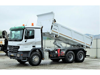 Tipper Mercedes-Benz Actros 3332 Kipper 5,10m Bordmatic*6x4*!