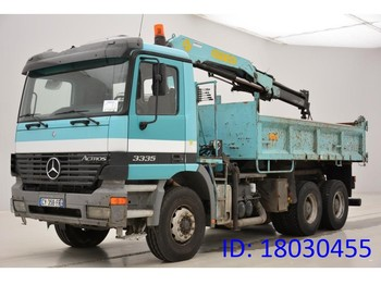 Tipper Mercedes-Benz Actros 3335 - 6x4