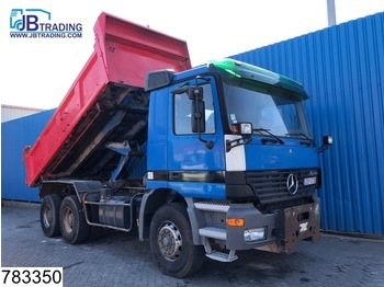 Tipper Mercedes-Benz Actros 3335 6x4, 13 Tons axles, Manual, Steel suspension, Analoge tachograaf, Hub reduction
