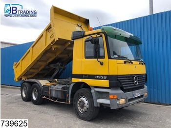 Tipper Mercedes-Benz Actros 3335 6x4, manual, Steel suspension, 13 Tons axles, Analoge tachograaf, Hub reduction: picture 1