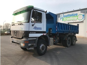 Mercedes-Benz Actros 3335 - 6x6 - full steel - Manual - tipper