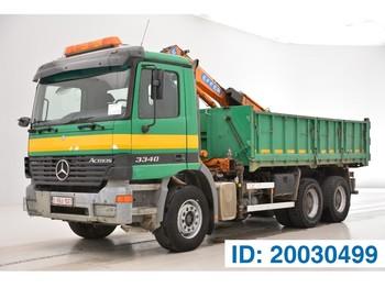 Φορτηγό ανατρεπόμενο Mercedes-Benz Actros 3340K - 6x4