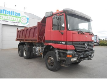 Mercedes-Benz Actros 3340 - 6x6 - full steel - tipper