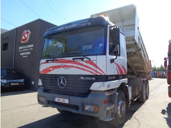Tipper Mercedes-Benz Actros 3340 manual lames