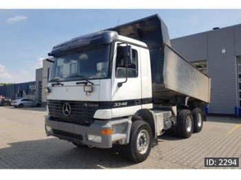 Mercedes-Benz Actros 3348 Day Cab, Euro 3, full steel suspension - tipper