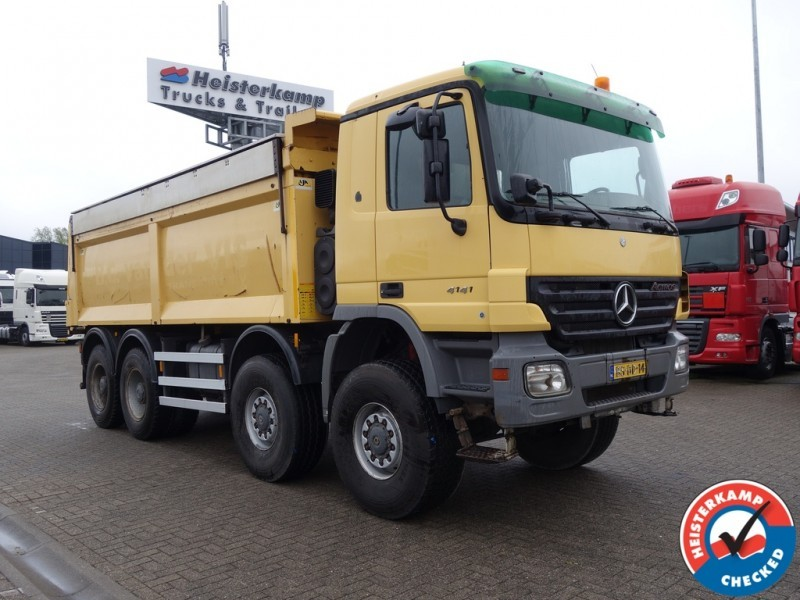 mercedes benz actros 4141 8x8 asfalt asphalt kipper manual rh truck1 eu Mercedes-Benz Actros RV Mercedes-Benz AM