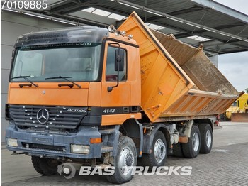 Tipper Mercedes-Benz Actros 4143 K 8X6 Manual BigAxle SteelSuspension 15m3 Euro 3