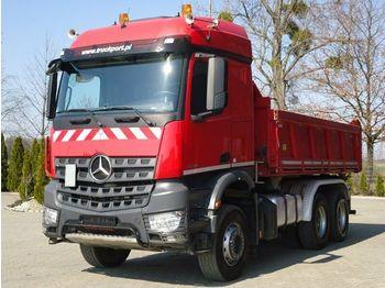 قلابات Mercedes-Benz Arocs 2645 6x4 Euro 6 Dreiseitenkipper MEILLER