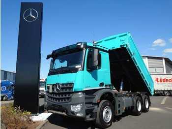قلابات Mercedes-Benz Arocs 2645 K 6x4 Dreiseitenkipper Retarder AHK