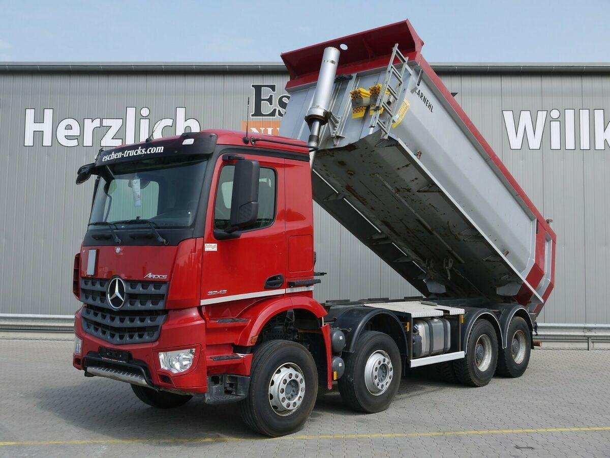 tipper Mercedes-Benz Arocs 3243 8x4 Carnehl Hardox Mulde, Blatt/Blatt