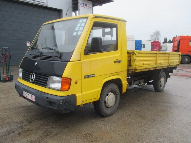 mercedes benz mb 100 d full steel suspension tipper from belgium for sale at truck1 id 1549229. Black Bedroom Furniture Sets. Home Design Ideas