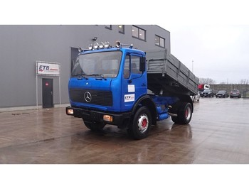 Mercedes-Benz SK 1622 (GRAND PONT / SUSPENSION LAMES / V6-MOTEUR) - tipper
