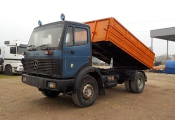 Tipper Mercedes-Benz SK 1733 (BIG AXLE / V6 / STEEL SUSPENSION)