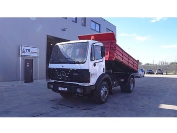 Mercedes-Benz SK 1820 (GRAND PONT /SUSPENSION LAMES / V6-MOTEUR) - tipper