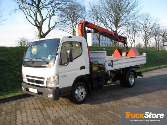Mitsubishi Fuso 7c15 Ki Kran 4x2 Tipper From Germany For Sale At Truck1 Id 930246