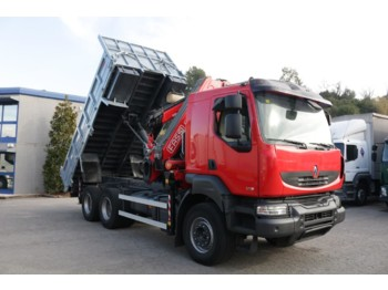 Tipper RENAULT KERAX 370DXI E4 (Tipper and Crane): picture 1