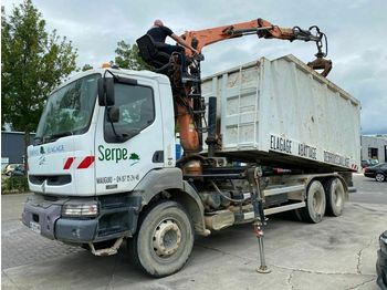 Renault 320 DCI 6X4 MANUAL FULL STEEL EURO 2 + GUERRA 11  - tipper