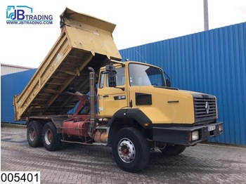 Tipper Renault CBH 385 6x4, Manual, Steel suspension, Hub reduction