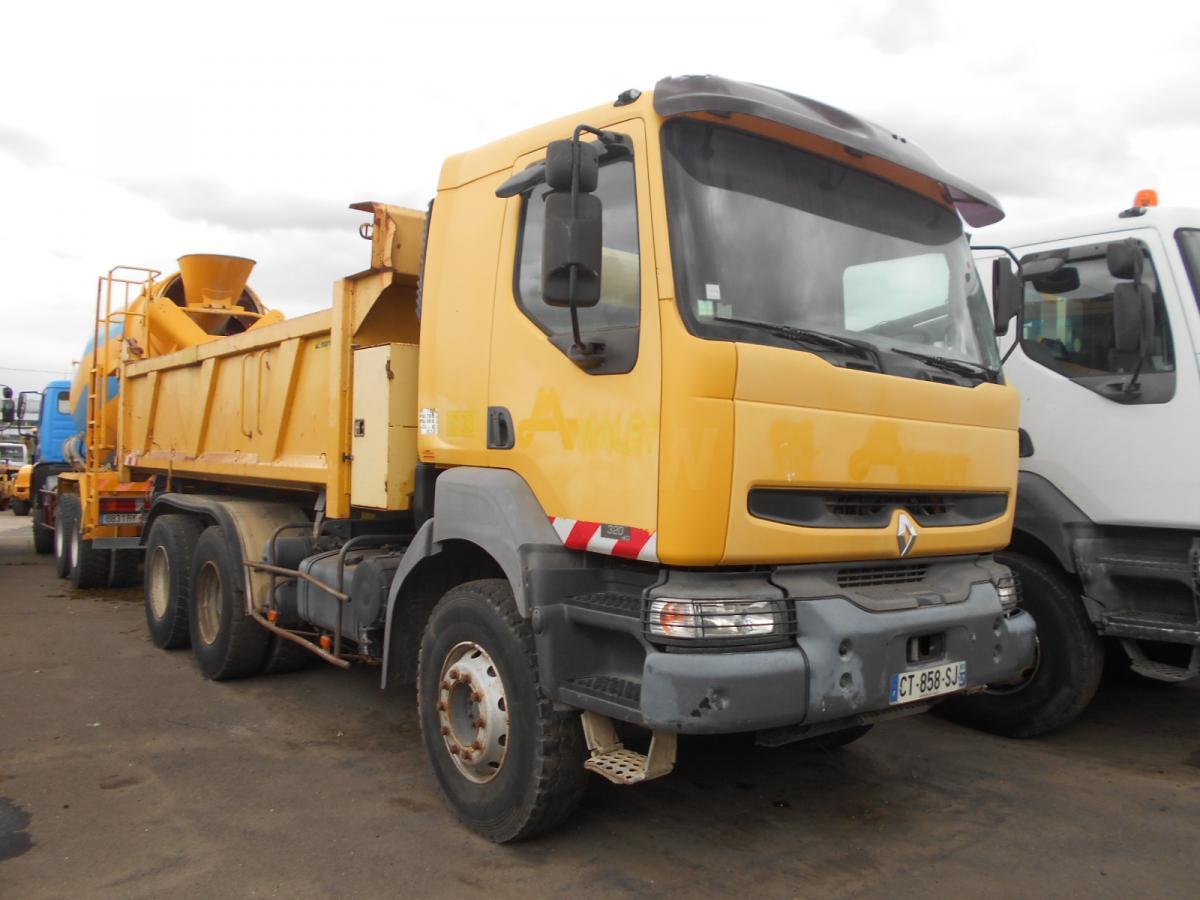 tipper Renault Kerax 320