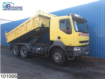 Tipper Renault Kerax 320 6x4, Manual, Retarder, airco, Hub reduction