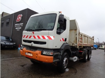 Tipper Renault Kerax 340 manual pump