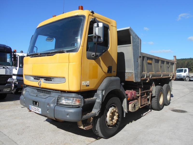 tipper Renault Kerax 385