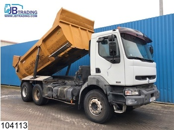 Tipper Renault Kerax 420 6x4, Manual, Retarder, Airco, Analoge tachograaf, Hub reduction