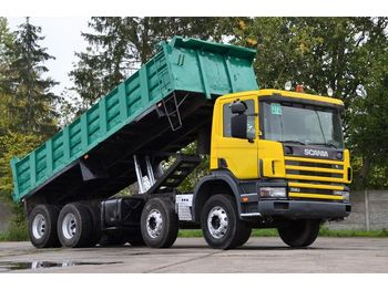 SCANIA 114 340 8x4 - 1998 - tipper - tipper