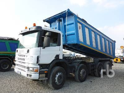 renault scania 124.420 8x4