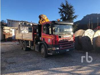 SCANIA 124L420 6x2 - tipper