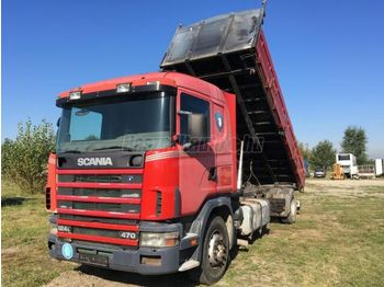 SCANIA 124 L - tipper