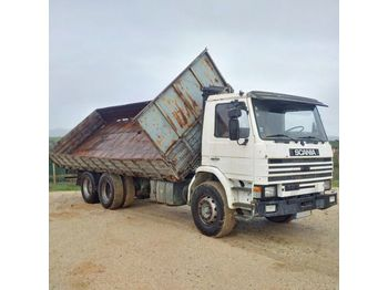 SCANIA 92 H 280 left hand drive Intercooler 10 tyres 26 ton - tipper